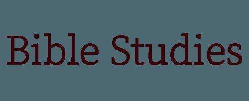 Bible studies | Persevering Women